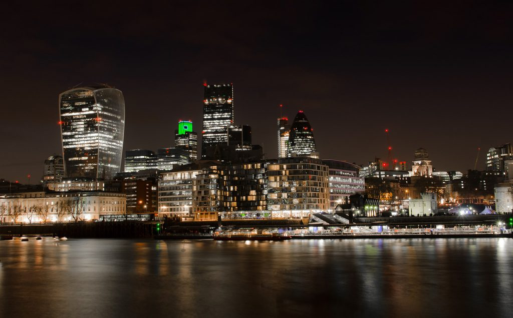 london, city, skyline